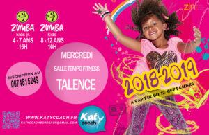 Zumba Kids Jr 2018 2019 TALENCE