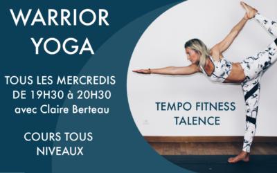Nouveau cours de yoga à Talence !