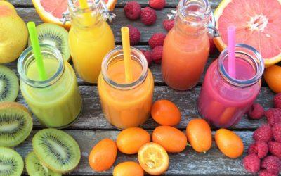 Le smoothie pomme kiwi, boisson riche en vitamines et de saison