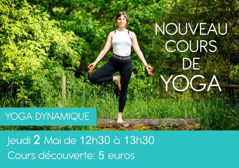 Changement d'heure pour les cours de yoga