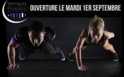 Ré-ouverture du Tempo Fitness Talence le 1er septembre 2020